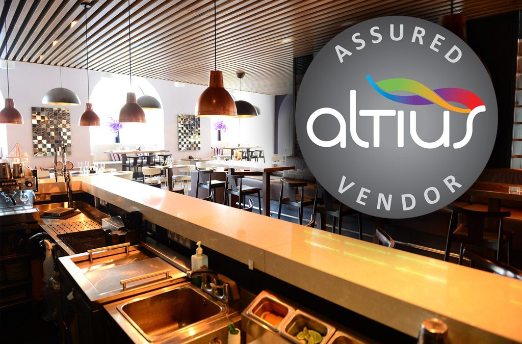 Commercial Kitchen Design & Supply Company Achieves Altius Supplier Accreditation
