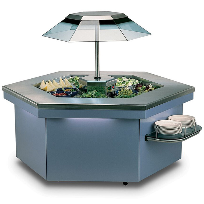 Commercial food display equipment