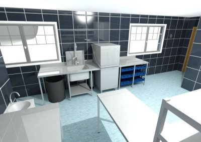 Kitchen CAD drawing